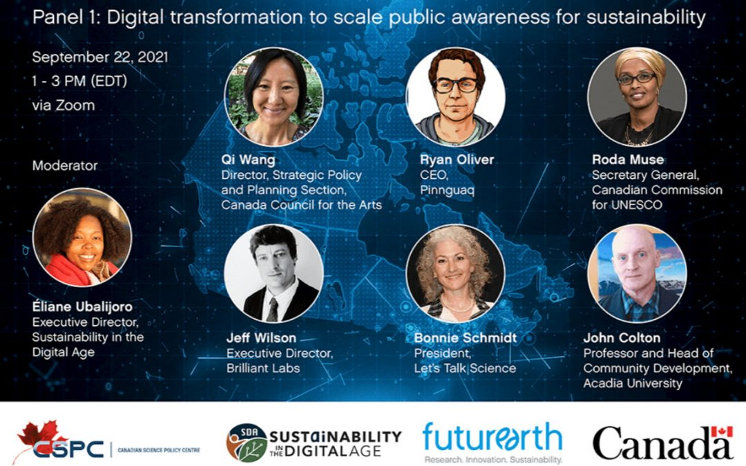 Join The National Dialogue Series: Canada's Sustainable Future